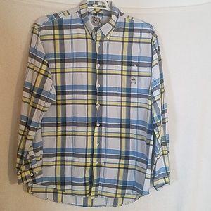 Cinch Western Plaid Shirt Size L
